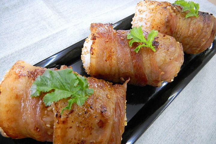 Onigiri cao cấp cuộn thịt nướng