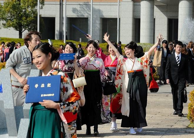 Lễ thành nhân tại vùng động đất (Fukushima) 13/1/2014